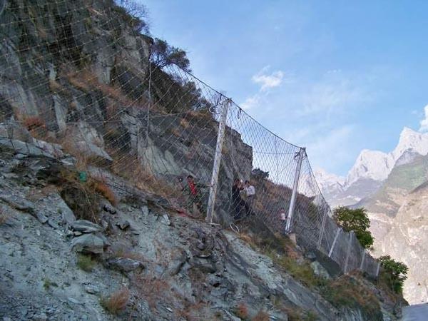 安徽黄山边坡防护工程
