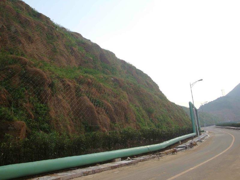 庄盖高速第五合同段边坡防护工程